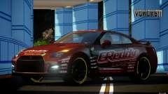 Nissan GT-R Black Edition GReddy