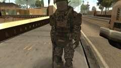 Боевой солдат из CoD:Mw2