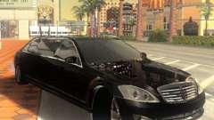 Mercedes-Benz Pullman (w221) SE для GTA San Andreas