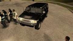 Сигнализация для машины для GTA San Andreas