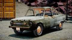 ЗАЗ 968М Побитый для GTA 4