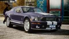 Shelby GT500KR 2008 для GTA 4