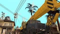 МКАТ-40 на базе КрАЗ-250 для GTA San Andreas