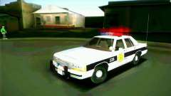 Ford Crown Victoria LTD 1991 HILL-VALLEY Police для GTA San Andreas