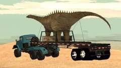 Прицеп Динозавр для GTA San Andreas
