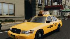 Ford Crown Victoria NYC Taxi 2012 для GTA 4