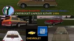 Chevrolet Caprice Estate 1986
