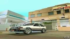 Toyota Trueno AE86 4type для GTA Vice City