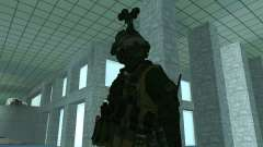 Третий скин солдата из Cod MW 2 для GTA San Andreas