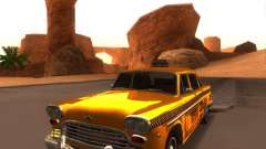 Checker Marathon Yellow CAB