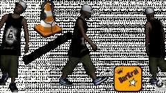Cone Crew Skin для GTA San Andreas
