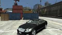 Mercedes-Benz S Class W221 для GTA 4