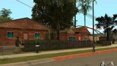 Новые текстуры домов на Гроув Стрит
