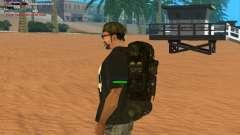 Military backpack для GTA San Andreas