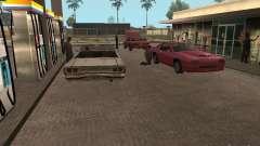Оживленные места v1.0 для GTA San Andreas