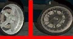 Диски для Ваз 2114 для GTA San Andreas