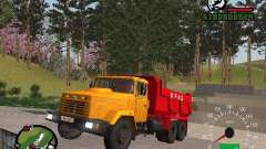 KrAZ 65055 Самосвал для GTA San Andreas