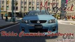 Holden VE Commodore Sportwagon SS 2009 для GTA 4