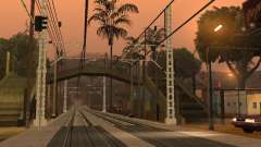 Высокоскоростная ЖД линия для GTA San Andreas