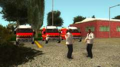 Оживление больницы в Форт Карсон для GTA San Andreas