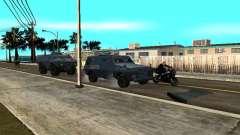 S.W.A.T. и FBI Truck ездят по улицам для GTA San Andreas