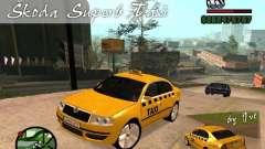 Skoda Superb TAXI cab для GTA San Andreas