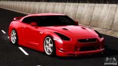 Nissan GT-R R35 SpecV 2010 для GTA 4