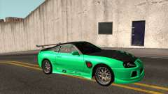 Toyota Supra ZIP style для GTA San Andreas