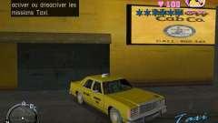 Ford Crown Victoria LTD 1985 Taxi для GTA Vice City