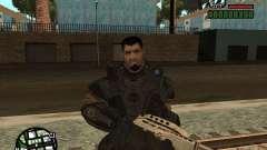 Доминик Сантьяго из игры Gears of War 2 для GTA San Andreas