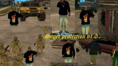 Super protection v1.0 для GTA San Andreas