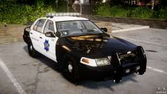 Ford Crown Victoria SFPD K9 Unit [ELS] для GTA 4