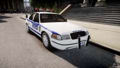 Ford Crown Victoria Police Department 2008 Interceptor NYPD для GTA 4