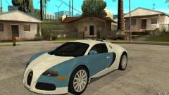 Bugatti Veyron Final для GTA San Andreas