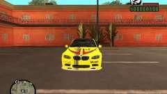 BMW M3 жёлтый для GTA San Andreas