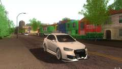 Mitsubishi Lancer EVO X drift Tune для GTA San Andreas