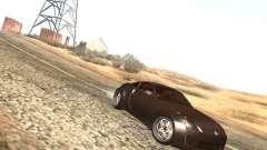 Nissan 350Z серебристый для GTA San Andreas