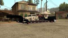 Trailer lowboy transport