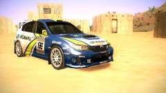 Subaru impreza Tarmac Rally для GTA San Andreas