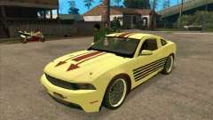 Ford Mustang Jade from NFS WM для GTA San Andreas