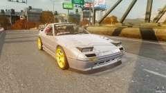 Mazda RX-7 FC3S v1.0 без винила для GTA 4
