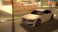 Audi A8 2010 для GTA San Andreas