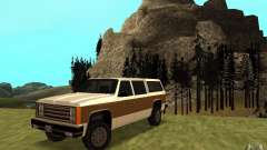 Гражданский FBI Rancher для GTA San Andreas