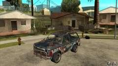 Blaster XL from FlatOut2 для GTA San Andreas