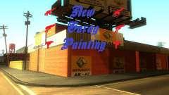 New Garage Painting для GTA San Andreas