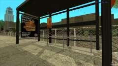 Автобусные остановки в HD для GTA San Andreas