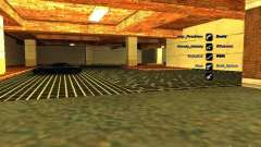 Новый гараж для SFPD для GTA San Andreas