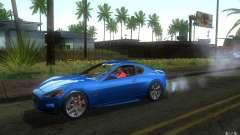 Maserati Gran Turismo S 2011 для GTA San Andreas