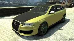 Audi RS6 Avant 2010 Carbon Edition для GTA 4