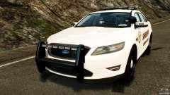 Ford Taurus 2010 CCSO Police [ELS]
